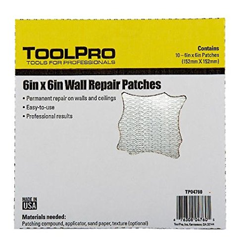 toolpro-6-x-6-wall-repair-patches-10-pack