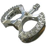 "MKS Lambda Pedals - 9/16"", Silver"
