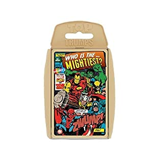 Marvel Comics Retro Top Trumps 3+