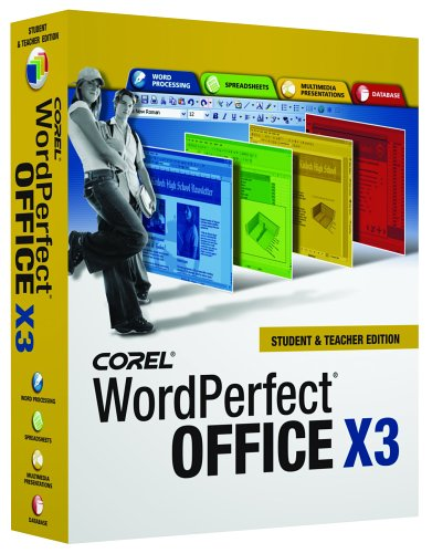 Wordperfect Office X3 Student And Teacher Edition [Old Version]