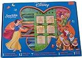 Noris 606314351  -Snow White - Set de sellos y rotuladores de Blancanieves [Importado de Alemania]