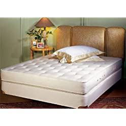Superb Royal Latex Natural Latex Mattresses and Box Springs California King Size Bed Sets