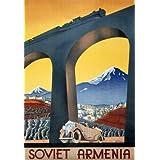 Soviet Armenia (V&A Custom Print)