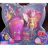 Barbie Fairytopia Mermaidia Yellow Seabutterfly Doll