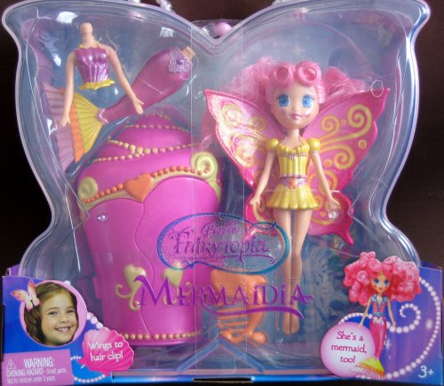 Barbie Fairytopia Mermaidia Yellow Seabutterfly Doll - Buy Barbie Fairytopia Mermaidia Yellow Seabutterfly Doll - Purchase Barbie Fairytopia Mermaidia Yellow Seabutterfly Doll (Barbie, Toys & Games,Categories,Dolls,Playsets)