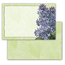 Sweet Remembrances - Set of 10 Correspondence Greeting Cards and Envelopes
