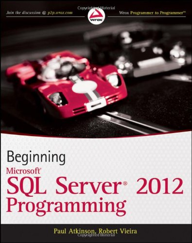 Book Beginning Microsoft SQL Server 2012 Programming