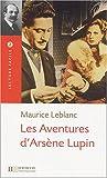 echange, troc Maurice Leblanc - Les aventures d'Arsène Lupin