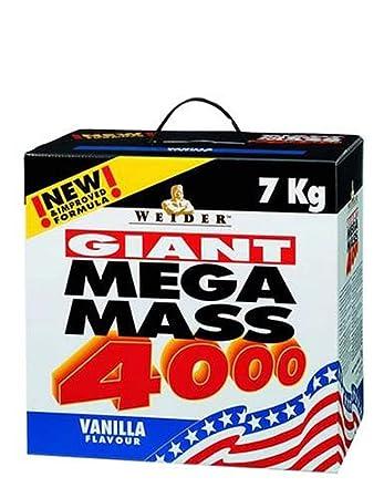 Weider Mega Mass 4000, Vanille, 7kg Dose