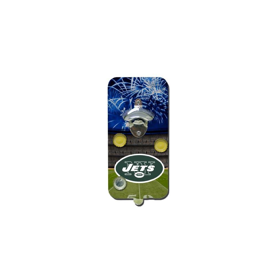 NFL New York Jets Clink N Drink Magnetic Bottle Opener