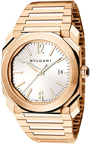 Bulgari Octo Automatic 38mm Solid Rose Gold Mens Watch BGOP38WGGD