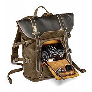 NATIONAL GEOGRAPHIC カメラリュック Africaコレクション 6.7L 15インチタブレット収納可 ブラウンキャンバス NG A5290