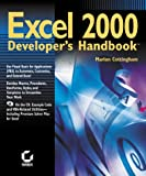 img - for Excel 2000 Developer's Handbook book / textbook / text book