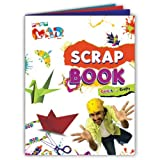 Chits 'n' Krafts Pogo Mad - Scrap Book-Colored Pages (Pack Of 5 )