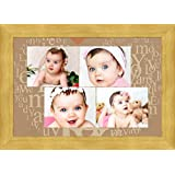 Avercart Custom Premium Collage Photo Frame With Print (4 Photos Required) Your Exclusive Collage 18x12 Inch