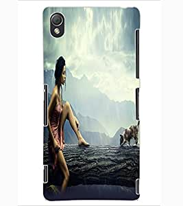 ColourCraft Lovely Design Back Case Cover for SONY XPERIA Z3