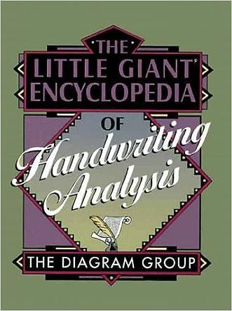 The Little Giant Encyclopedia of Handwriting Analysis