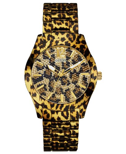 GUESS Men's U0001L2 Sporty Animal Magnetism Watch
