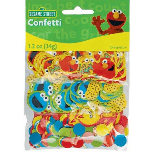 Imagen de Sesame Street 1 º - Confetti Party accesorios