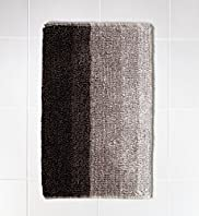 Ombre Striped Bath Mat