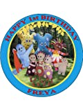 IN THE NIGHT GARDEN - BLUE - PERSONALISED 7.5