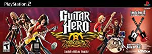 Guitar Hero Aerosmith Bundle Wired - PlayStation 2