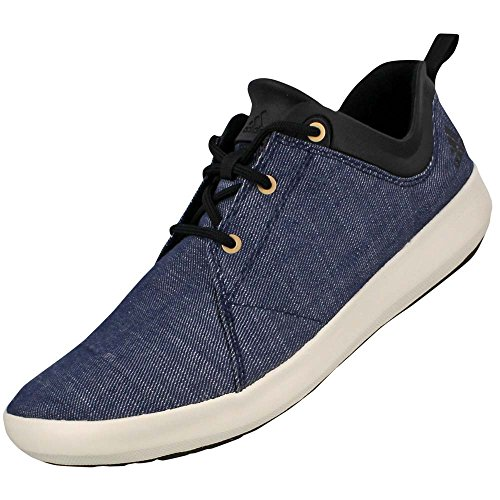 Adidas Satellize Shoe - Men's Lucky Blue / Chalk White / Earth 11