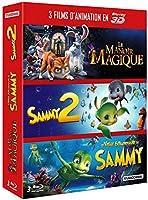 3 films d'animation en Blu-ray 3D et 2D: Le manoir magique + Sammy 2 + Le voyage extraordinaire de Sammy [Blu-ray 3D]