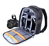 DURAGADGET 14 inch Padded Camera Rucksack Backpack case for Canon EOS and PowerShot Range
