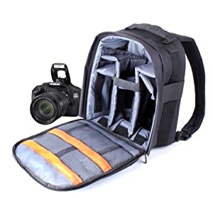 Sac de transport, à dos et de rangement pour appareils photos et accessoires SLR / reflex Canon EOS Rebel T1i, T2i, T3, T3i, T4i et SX30