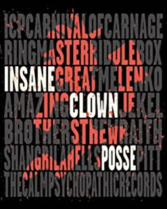 Licenses Products ICP Carnage Sticker