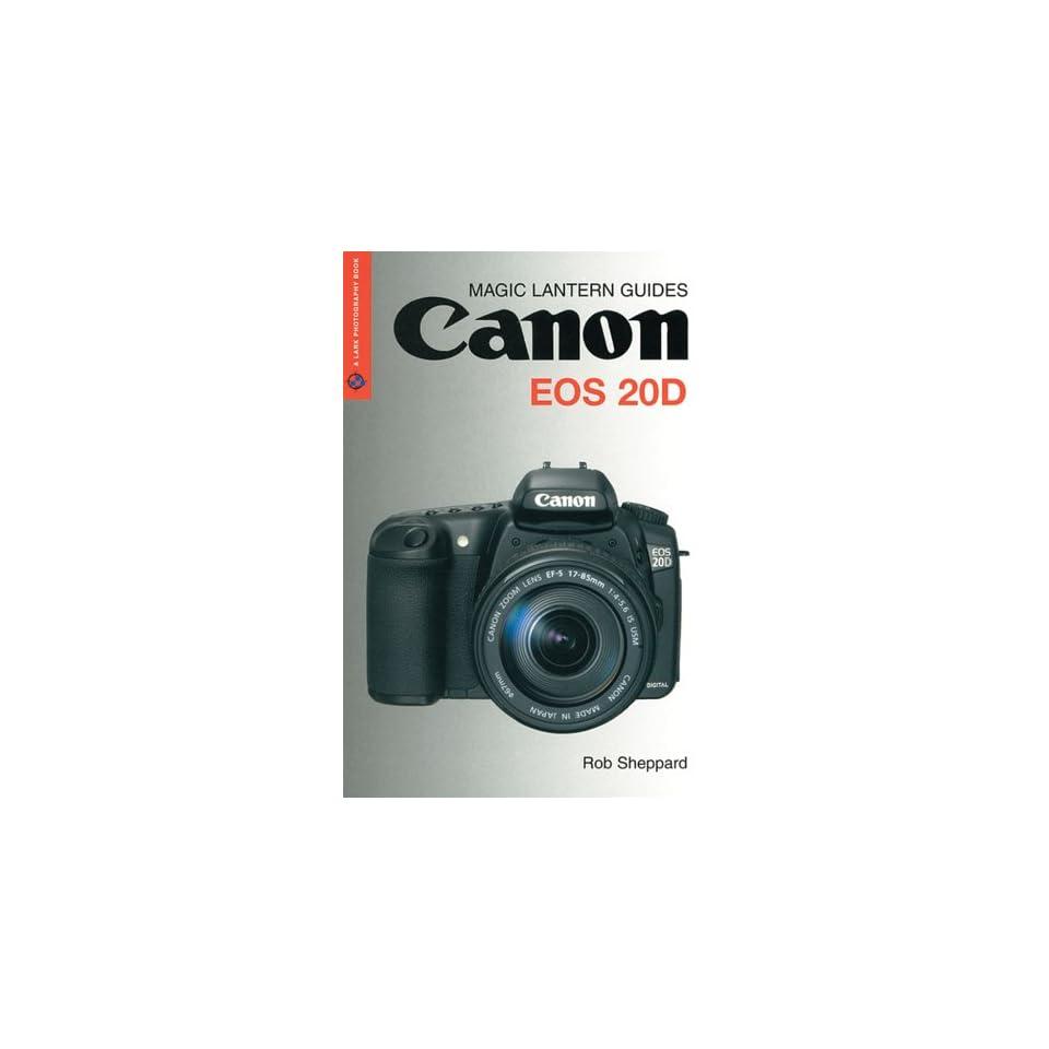 Canon EOS 20D CheatSheet on PopScreen