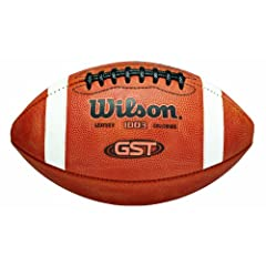 Buy Wilson 1003GST Game Football by Wilson