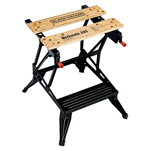 Black & Decker WM225 Workmate 225 450-Pound Capacity Portable Work Bench (Black And Decker Work Table compare prices)