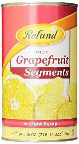 Roland Grapefruit Segments in Light Syrup, 46-Ounce Cans