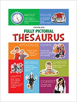 Buy fully pictorial thesaurus book online at low prices in for Cuisine thesaurus
