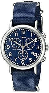 Timex Men's TW2P713009J Weekender Collection Analog Display Quartz Blue Watch