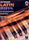 Ultimate Latin Piano/Keyboard Riffs Book/audio CD