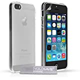 Yousave Accessories Silicone Gel Cover Case for iPhone 5 / 5S - Clear