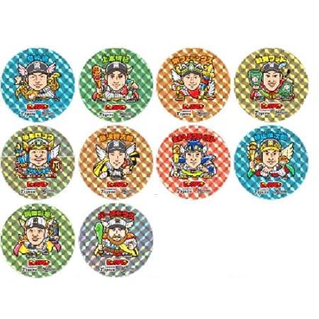 2016 阪神タイガース×ビックリマン 缶バッジ 10種セット