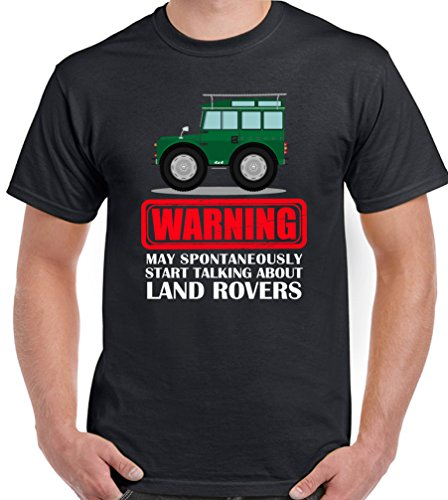 warning-may-start-talking-about-land-rovers-mens-funny-t-shirt