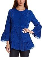 Almatrichi Blusa Patricia (Azul)