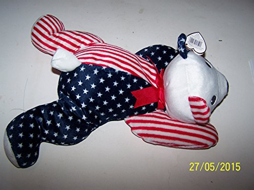 Ty Pillow Pal - Sparkler the Patriotic Bear - 1