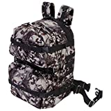Extreme Pak LUBPSKRE2 Extreme Pak Red-eye Skull Camo Water-resistant 19 Backpack