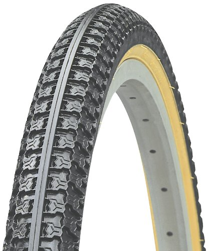 Kenda K53 Wire Bead Bicycle Tire, Gumwall, 26-Inch x 2.125-Inch
