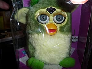 FURBY Interactive Electronic Toy (green and white)