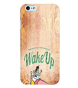 PrintVisa Quotes & Messages Attitude 3D Hard Polycarbonate Designer Back Case Cover for Apple iPhone 6S