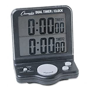 Champion Sports Dual Timer