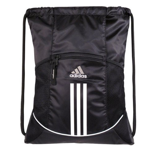 adidas adidas 5123793 Alliance Sport Sackpack,Black,One Size
