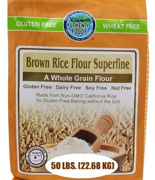 Authentic Foods Superfine Brown Rice Flour Free Shipping